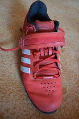 Adidas Weightlifting Shoe - Adipower - Size 10.5 US - Red in Ramstein, Germany