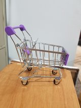 Toy shopping cart in St. Charles, Illinois