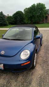 Used 2008 Volkswagen New Beetle Convertible in St. Charles, Illinois