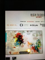 High Fashion Home Art Canvas in Kingwood, Texas