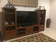3 Piece entertainment center in Okinawa, Japan