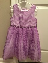 Purple dress in Spring, Texas