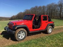 2017 Jeep Wrangler Unlimited Automatic in Ramstein, Germany