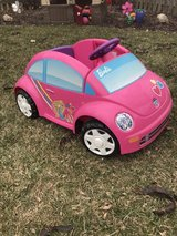 Power wheels Barbie car with charger in St. Charles, Illinois