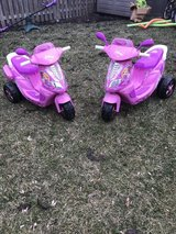 Power wheels scooters with chargers in St. Charles, Illinois