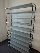 SONGMICS 10 Tiers Shoe Rack 50 Pairs Non-woven Fabric in Ramstein, Germany