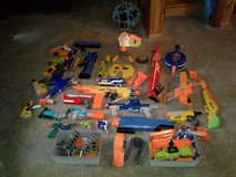 nerf guns, clips and some ammo in Watertown, New York