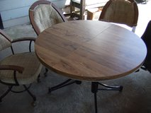 ROUND TABLE AND 4 CHAIRS in Camp Lejeune, North Carolina