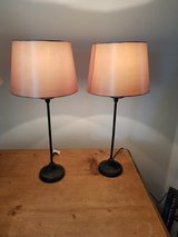 2 table lamps 220volt in Ramstein, Germany