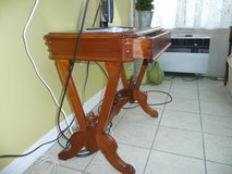 Victorian Walnut Sewing Table Circa 1875 in Fort Belvoir, Virginia