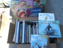 Large box of kids books in Fairfield, California