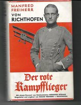 1933 ORIGINAL RED BARON BOOK WITH DUST COVER AND NEWS PAPER CLIPPING RARE AND NEAR MINT in Ramstein, Germany