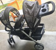 Chicco double stroller in Fort Lewis, Washington