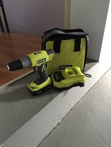 Ryobl 18v cordless powers drill 220 in Ramstein, Germany