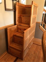 Reduced!!~4 drawer dresser/stair set for bunk beds~ in Wheaton, Illinois