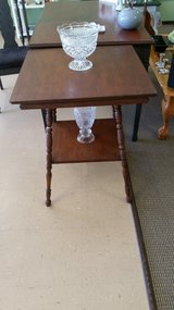 Antique parlor tables in Fort Leonard Wood, Missouri