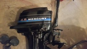 Mercury Outboard Motor 4.5 hp - preivew of upcoming sale in Chicago, Illinois