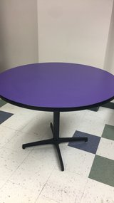 Large Purple Lunchroom Table in St. Charles, Illinois