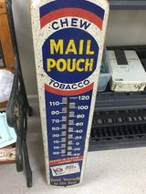 ANTIQUE MAIL POUCH TOBACCO THERMOMETER in Fort Knox, Kentucky