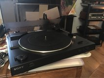 Sony turntable in Lockport, Illinois