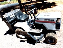 RIDING LAWNMOWER  CRAFTSMAN 12 hp in Alamogordo, New Mexico