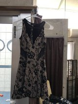 Lace over dress in Okinawa, Japan