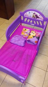 Toddler Minnie Mouse bed in Fort Leonard Wood, Missouri