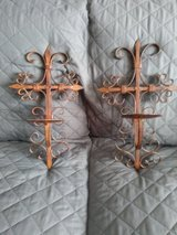 Cross wall candle holders in Barstow, California