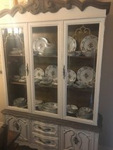 Painted China Cabinet in Kingwood, Texas