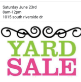 Yard sale in Fort Campbell, Kentucky