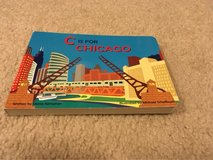 C is for Chicago board book in Naperville, Illinois