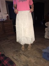 Vintage Suede Leather Skirt in Kingwood, Texas