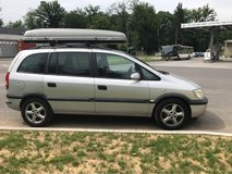 2002 Opel Zafira with roof rack in Stuttgart, GE