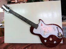 Handcrafted Electric Guitar LED lighted Clock - $125 (New Bern) in Cherry Point, North Carolina