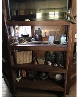Teak shelf ***priced down*** in Okinawa, Japan