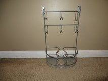 Over Cabinet Metal Hair Styling Organizer 6 Hooks, 1 Metal Mesh Shelf and  Loops for Support in Joliet, Illinois