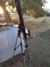 telescope with tripod in 29 Palms, California