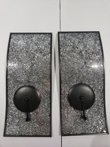 2 Wall Metal Mirrored Candle holder in Clarksville, Tennessee