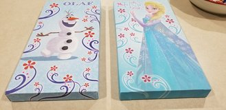 """Frozen"" bedroom decor in Kingwood, Texas"