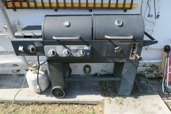 gas grill & grill & propane tank & cover in Okinawa, Japan