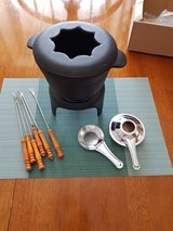 Fondue Set of cast Iron in Baumholder, GE