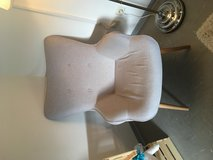 Mid century modern reading chair light grey in Ramstein, Germany