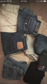 11 pair of khakis and jeans size 12-14 boys in Cherry Point, North Carolina