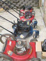 4 mowers for $20 in Fort Campbell, Kentucky
