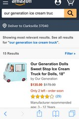 Our Generation Ice Cream Truck in Fort Campbell, Kentucky