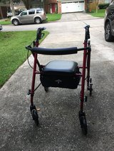 Rolling Adjustable Walker in Kingwood, Texas
