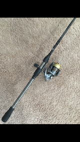 No. 8 Tackle Blackout and 2500 Shimano Sahara Combo in Lockport, Illinois