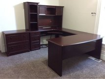 Large Office Desk and Filing Cabinet/Printer Stand in Travis AFB, California