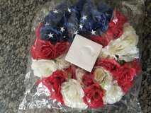 4th of July wreath in Chicago, Illinois