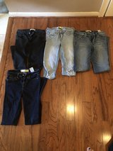 "CLEARANCE***Four Pair ABERCROMBIE & FITCH Jeans***SZ 25"" in Cleveland, Texas"